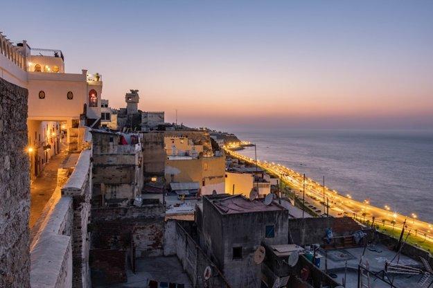 Marocké mesto Tangier