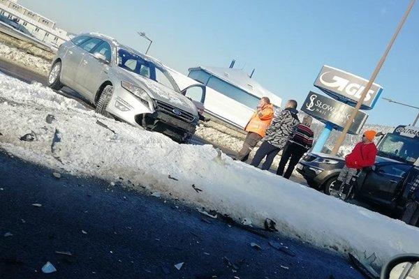 Nehoda v Žiline.