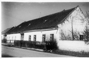 Obecný úrad v roku 1958