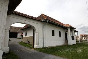 Ľudový dom v Babinej ako ukážka pôvodnej roľníckej usadlosti.