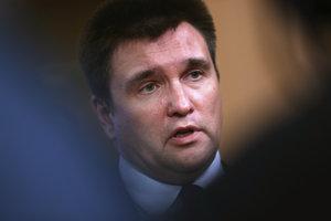 Ukrajinský minister zahraničia Pavlo Klimkin.
