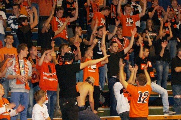 Mužstvo spod Čebraťa malo v poslednom čase veľkú oporu vo svojom fanklube