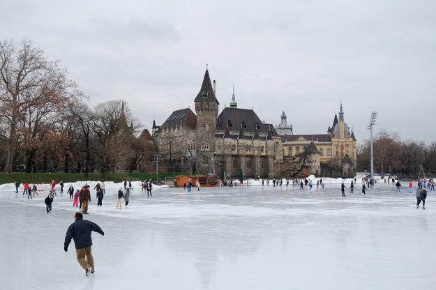 City Park v Budapešti.