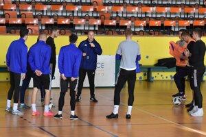 Úvodný tréning MFK Zemplín Michalovce v roku 2019.