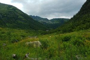 Chata a kuloár hôr