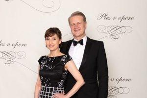 Jaroslav Fabián, významný slovenský vedec, kvantový fyzik s manželkou Janou Fabiánovou