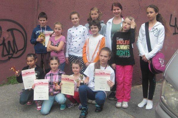 Gymnasti z liptovskomikulášskeho klubu športovej gymnastiky sa umiestnili medzi osemnástimi klubmi na prvom mieste.