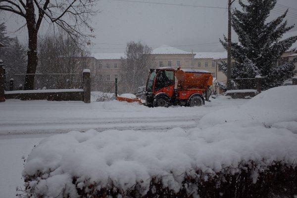 Zima v Kremnici.