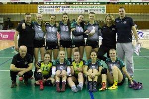 Dievčatá z VK Nové Mesto nad Váhom