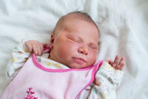 Katarína Heidrich (4030 g, 54 cm) sa narodila 5.januára Helene a Danielovi z Nemšovej.