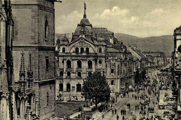 Centrum Košíc, dejisko významných udalostí 20. storočia.