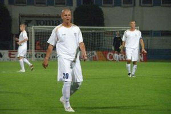 Filo, ktorý hral nedávno aj v drese B. Bystrice, dal jediný gól Dubnice proti Dukle.