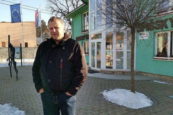 Vladimír Ledecký - starosta Spišského Hrhova.