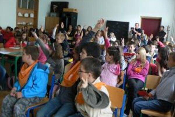 Na Detskej univerzite Katolíckej univerzity je tento rok sedemdesiat detí.