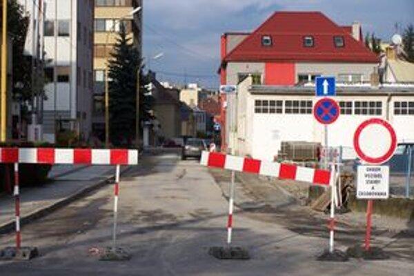 Výjazd na Štefánikovu ulicu je v súčasnosti zatvorený.