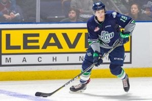 Andrej Kukuča v drese Seattle Thunderbirds.