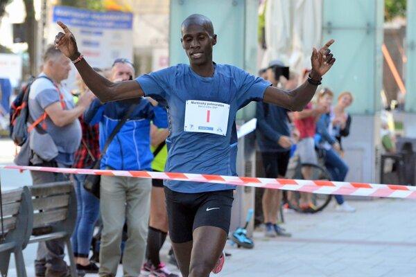 Martinský polmaratón vyhral Keňan Abel Kipet Rob.