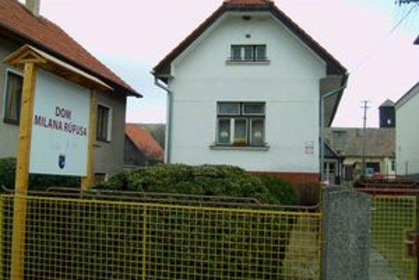 Rodný dom Milana Rúfusa v Závažnej Porube.
