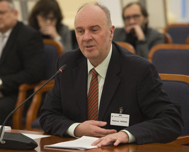 Radovan Hrádek.