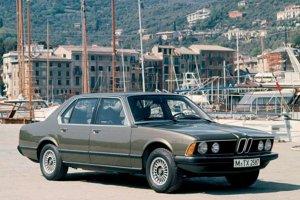 BMW radu 7 - 1. generácia