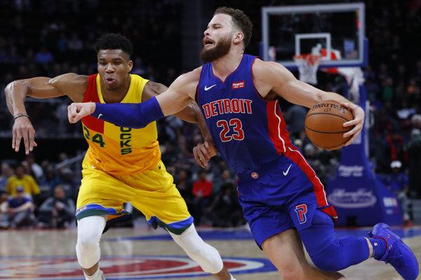 Basketbalisti Milwaukee zvíťazili v Detroite.