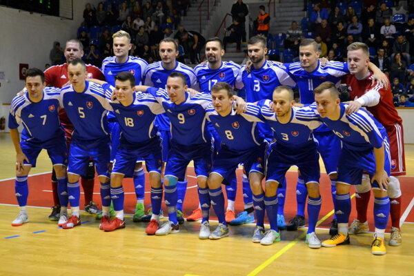 Ilustračné foto - Slovenská futsalová reprezentácia.