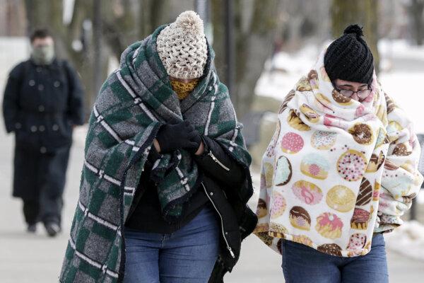 Extrémne mrazy sužujú aj Nebrasku.