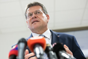 Kandidát na prezidenta SR Maroš Šefčovič.