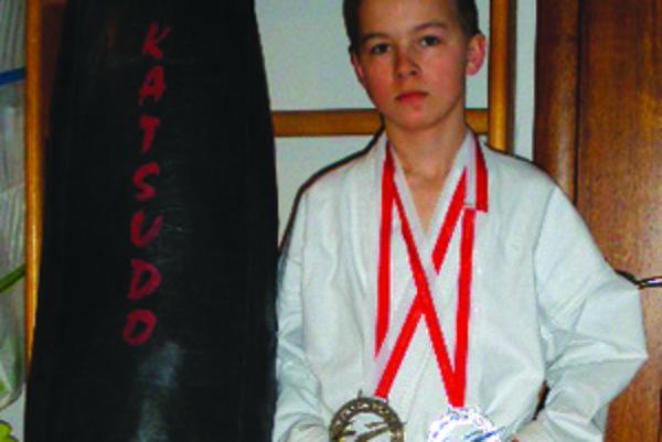 Dominika Imricha vybrali do reprezentačného družstva v kategórii kumite 12-13 ročných chlapcov.