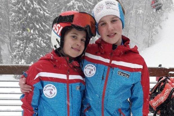 Veronika a Katka Šrobové.