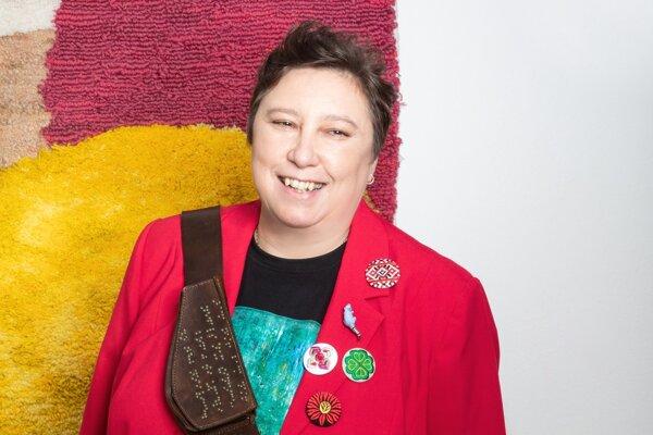 Etnologička Katarína Nádaská.