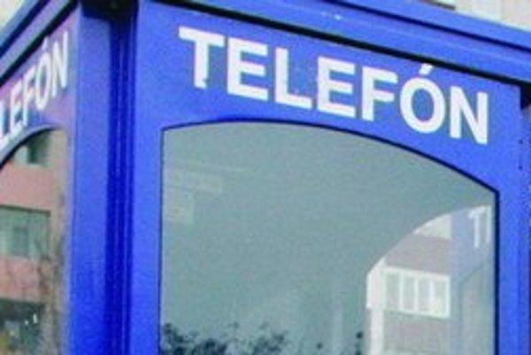 Počet telefónnych búdok klesol desaťnásobne.