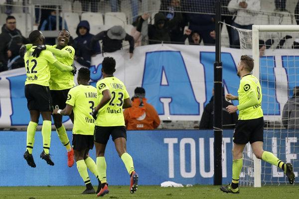 Futbalisti Lille - ilustračná fotografia.