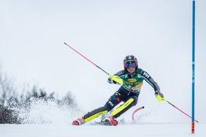 Anna Swenn-Larssonová na trati v prvom kole.
