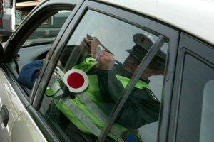 Batizovčana zastavila hliadka, šoféroval pod vplyvom alkoholu.