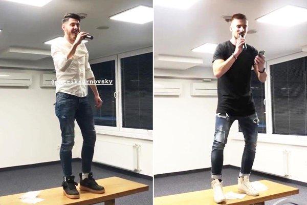 Nováčikovia v FC Nitra sa museli predviesť pred spoluhráčmi. Patrik Šurnovský zaspieval Vodu, čo ma drží nad vodou. Frederik Bilovský si vybral skladbu Zanedbaný sex.
