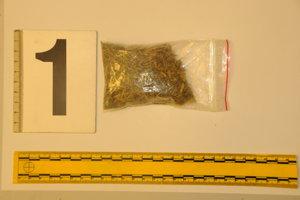 Policajti odhalili v Košiciach drogovú trestnú činnosť.