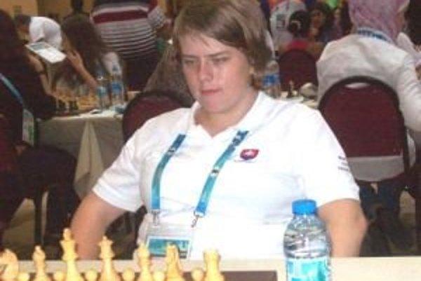 Nikola Konkolová si vybojovala miesto na olympiáde a zviditeľnila slovenský šach vo svete.