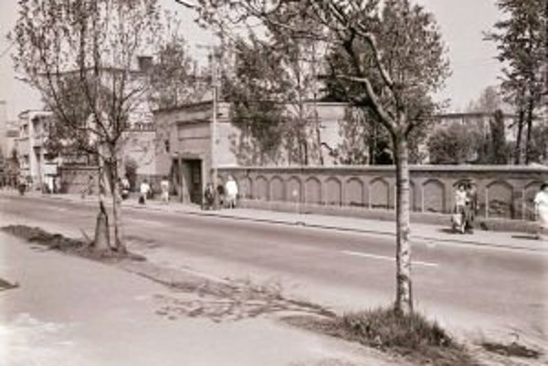Na mieste židovského cintorína je dnes park.