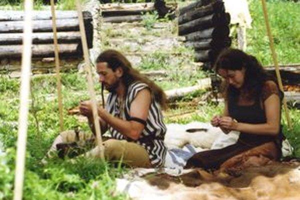 Na Havránku návštevníci spoznávajú život, aký kedysi viedli Kelti.