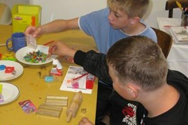 Náplňou dobrovoľníckej práce v Stopke je najmä zážitková pedagogika.