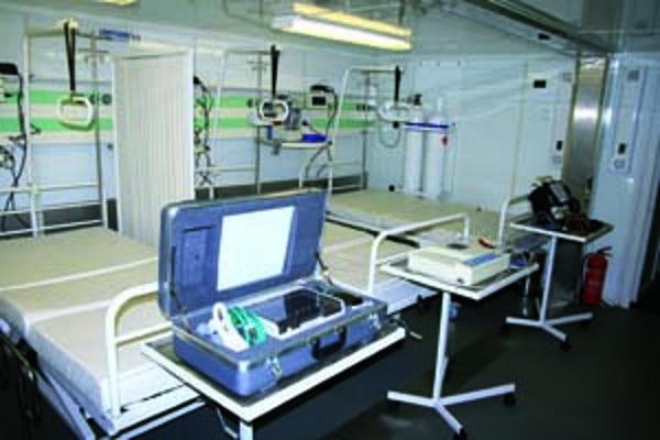 Poľná nemocnica spĺňa náročné požiadavky a štandardy NATO.