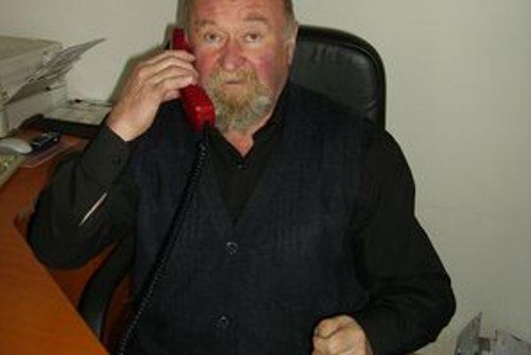 Starosta Liptovského Trnovca Ján Stankoviansky.