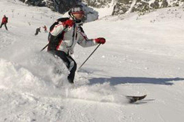 Ak bude dostatok snehu, zjazdovku dajú do prevádzky túto zimu aj bez dokončenia zasnežovania.
