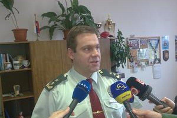 Okresný riaditeľ polície v Liptovskom Mikuláši Jozef Mada.
