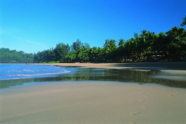 Pláž Ngapali, Mjanmarsko.