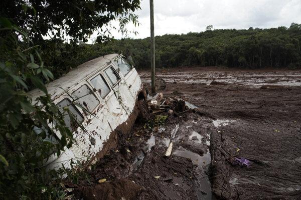 Katastrofa sa stala 25. januára pri meste Brumadinho.