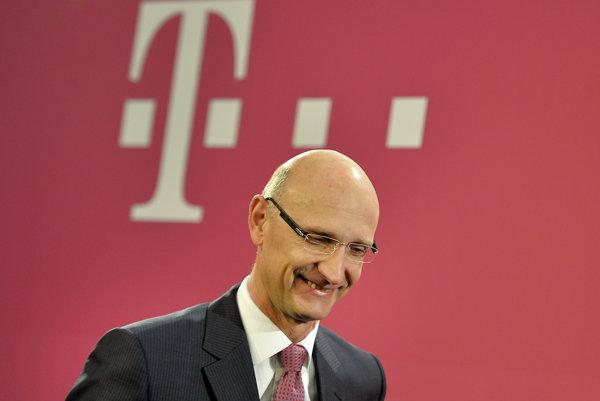 Šéf Deutsche Telekom Timotheus Höttges.