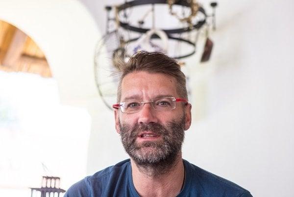 ANDY KRAUS (48) sa objavoval na obrazovke už ako dieťa.