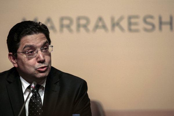Marocký minister zahraničných vecí Nássir Búritá.